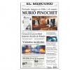 Murió Pinochet