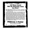 Pildoras De Foster