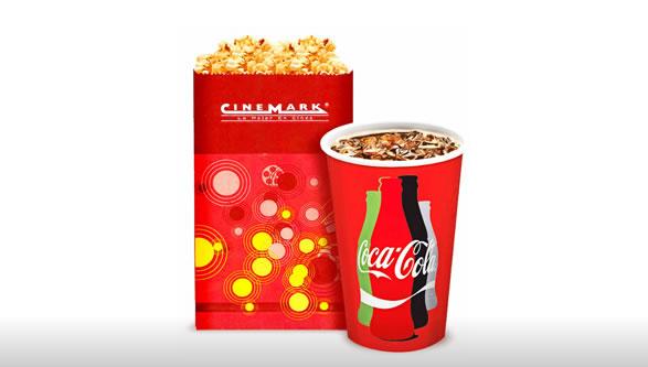 Cinemark confitería