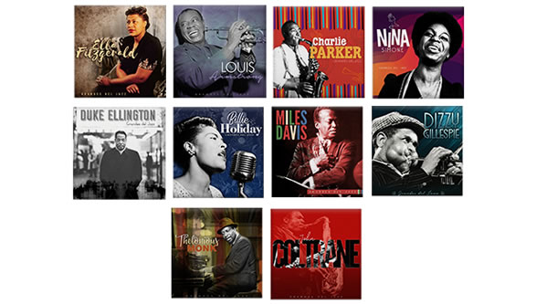 Vinilos Grandes del Jazz
