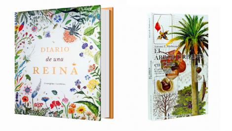 Libros sobre la flora chilena y las abejas
