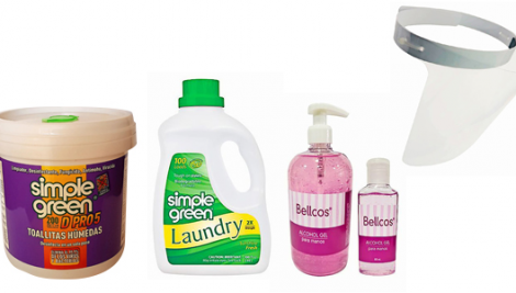 Productos desinfectantes y de limpieza