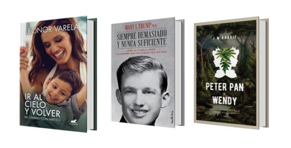 Biografías y memorias, novelas y más