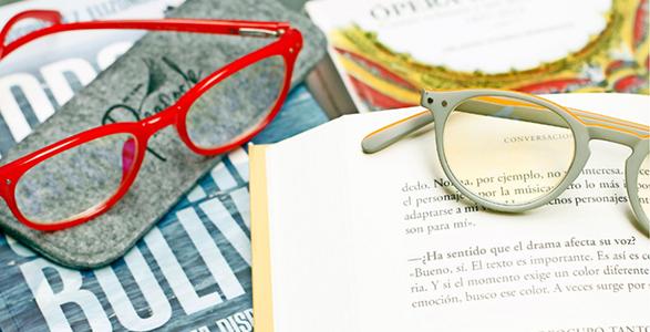 Anteojos de lectura con excelente nitidez, variados colores y modelos