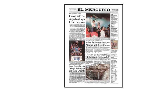 Colo Colo Se Adjudicó Copa Libertadores