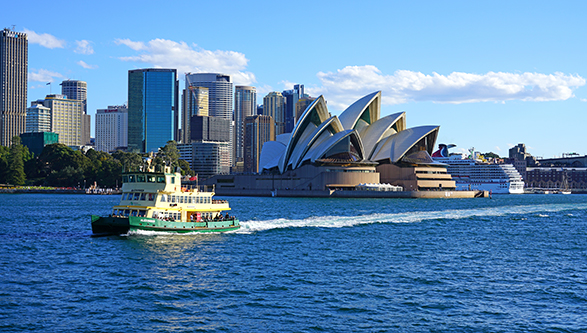 Crucero Australia y Nueva Zelandia