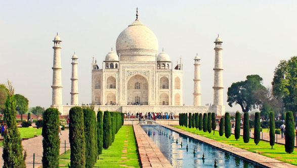 Norte y Sur de la India más Dubái