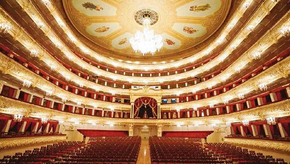 Ópera del Bolshoi Theatre