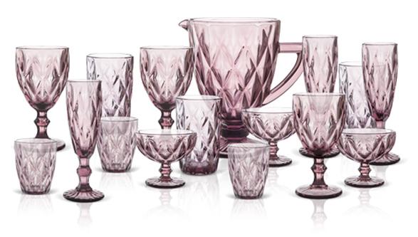 Vasos y Copas estilo Provenzal