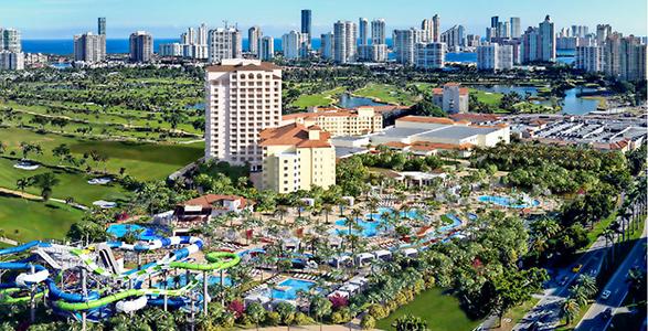 Vacaciones familiares en Miami en Hotel Turnberry